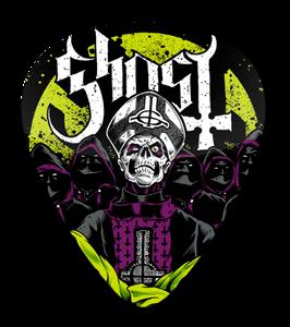 Ghost - Papa Emeritus Standard Guitar Pick