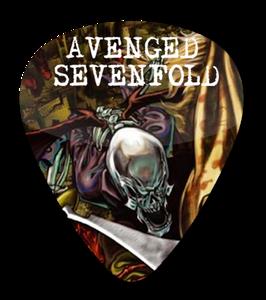 Avenged Sevenfold - City of Evil Standard Guitar Pick
