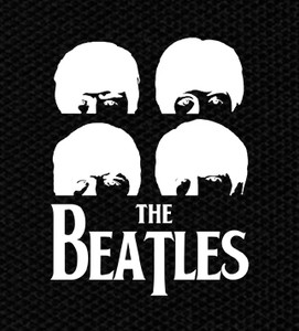 "The Beatles - Faces 4x5"" Printed Patch"