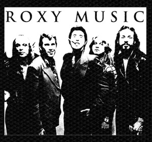 "Roxy Music - Band Picture 5x4"" Printed Patch"