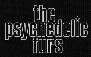 "The Psychedelic Furs Logo 5x3.5"" Printed Patch"