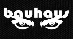 """Bauhaus - Eyes 5x3"""" Printed Patch"""