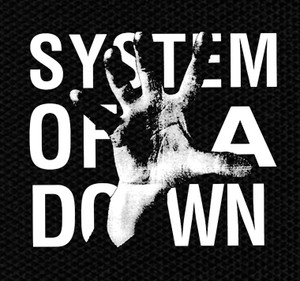 "System of a Down - Self Title Album 4x4"" Printed Patch"