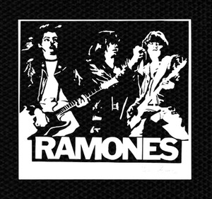 "Ramones Band Pose 4x4"" Printed Patch"