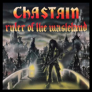 "Chastain - Ruler of the Wasteland 4x4"" Color Patch"