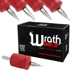 "TatSoul Wrath 1"" Tattoo Disposable Tubes In Different Sizes 15 per Box"