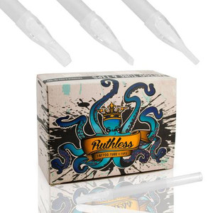Ruthless - Tattoo Disposable Tubes In Different Sizes 50 per Box