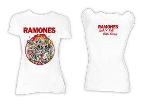Ramones - Rock N Roll High School Blouse T-Shirt