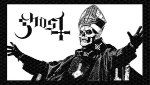"Ghost - Papa Emeritus 5x2.8"" Printed Patch"