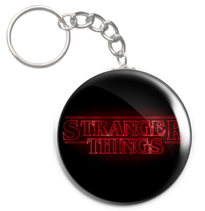 "Stranger Things Logo 1.5"" Keychain"