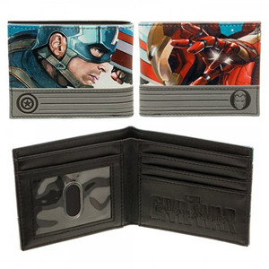 Marvel's Captain America Civil War Bifold Wallet