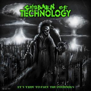 "Children Of Technology - It's Time To Face The Doomsday 4x4"" Color Patch"