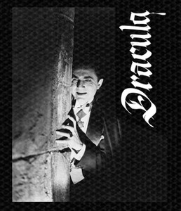 "Dracula - Bela Lugosi 4.5x4.5"" Printed Patch"