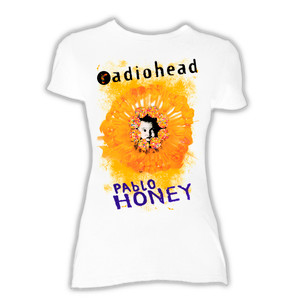 Radiohead - Pablo Honey White Blouse T-Shirt