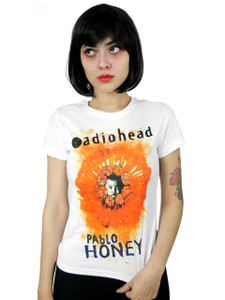 Radiohead - Pablo Honey White Blouse T-Shirt