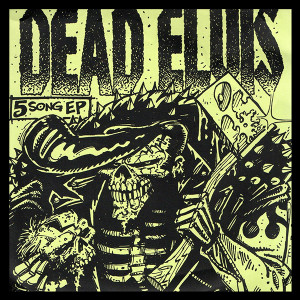 "Dead Elvis 5 Song Ep 4x4"" Color Patch"