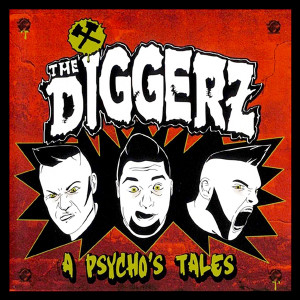 "The Diggerz A Psycho's Tales 4x4"" Color Patch"