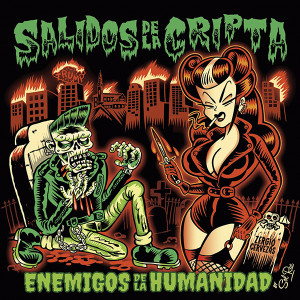 "Salidos de la Cripta Enemigos de la Humanidad 4x4"" Color Patch"