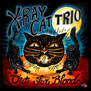 "X-Ray Cat Trio - Out For Blood 4x4"" Color Patch"