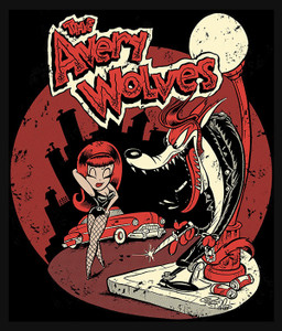 "The Avery Wolves by Shawn Dickinson 4x5"" Color Patch"