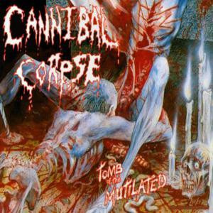 "Cannibal Corpse - Tomb of the Mutilated 4x4"" Color Patch"