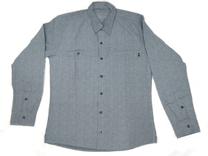 Antifashion - Grey Long Sleeve Button-Up Shirt