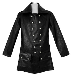 Dr. Frankenstein - Faux Leather Military Style Jacket