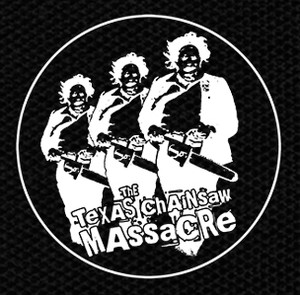 "The Texas Chainsaw Massacre - Leatherface Chase 4x4"" Printed Patch"