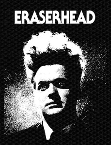 "David Lynch's Eraserhead 3.5x4.5"" Printed Patch"