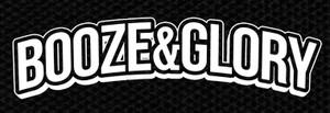 "Booze & Glory Logo 5x2"" Printed Patch"