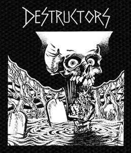 "Destructors - Cry Havoc And Unleash The Dogs Of War 4x4.5"" Printed Patch"