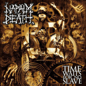 "Napalm Death - Time Waits For No Slave 4x4"" Color Patch"