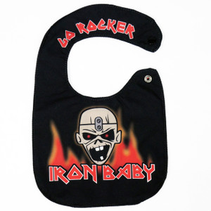 Go Rocker - Iron Baby Bib