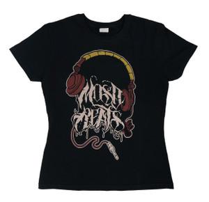 Mosh Beats Girl's T-Shirt Size Large
