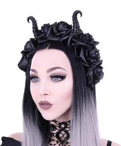 Restyle Clothing - Horns and Roses Crown