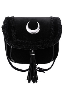 Restyle Clothing - Velvet Moon Mini Bag