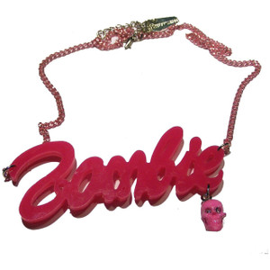 Kreepsville 666 - Pink Zombie Necklace