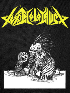 Toxic Holocaust - Alcoholocaust Backpatch 10.25x12""