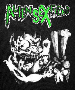 Alien Sex Fiend Demon Backpatch 12x14""