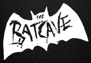 The Batcave Logo Backpatch 12.5x8""