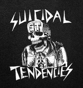 "Suicidal Tendencies ST Skull 4x4"" Printed Patch"