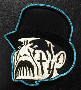 "King Diamond Face 3x3"" Embroidered Patch"
