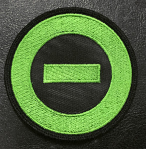 "Type O Negative Green Logo 3"" Embroidered Patch"