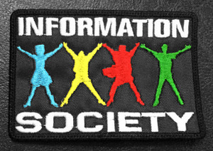 "Information Society Logo 3.5x2"" Embroidered Patch"