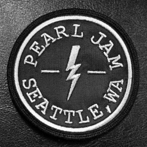 "Pearl Jam Seattle, WA 3"" Embroidered Patch"