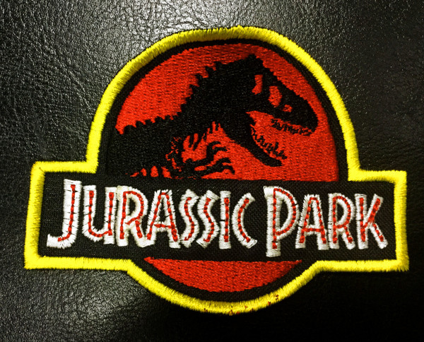 Jurassic Park Logo 35 Embroidered Patch
