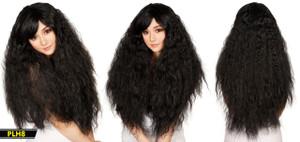 Black Long Wavy Wig