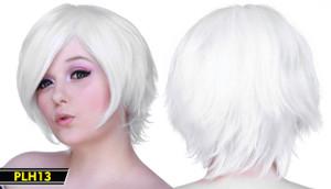 White Short Wig