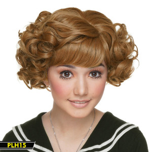 Light Brow Short Curly Wig