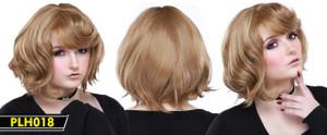 Light Brow Short Wig